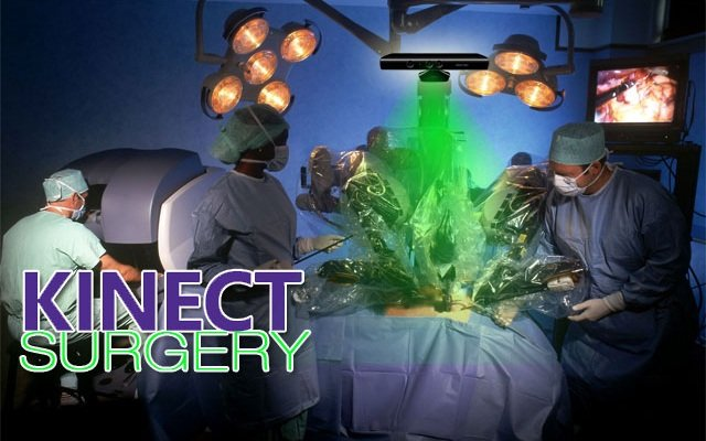 Kinect surgery