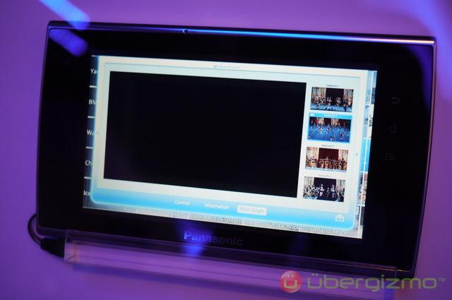 panasonic viera connect tablet and app store ubergizmo. Black Bedroom Furniture Sets. Home Design Ideas