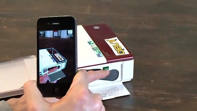 Metaio Augmented Reality app