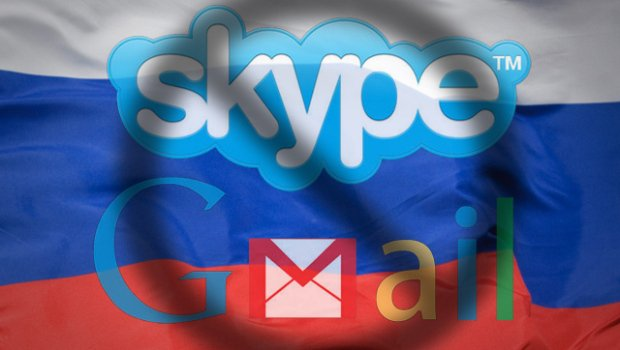 Russia to ban Gmail, Hotmail and Skype?