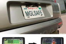 Magellan Back-Up Camera reduces car reverse accidents