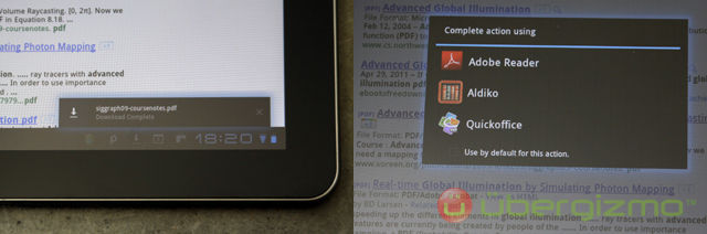 PDf download on Android 3.x