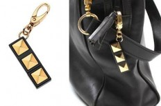 The Stud 2GB USB Drive Bag Charm is chic and functional