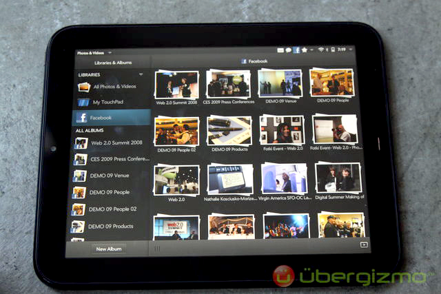 HP TouchPad photo gallery