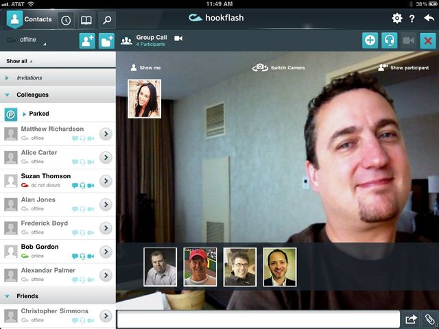 Hookflash Video Conferencing Meets Business -8465