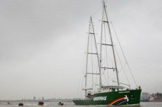 Greenpeace Rainbow Warrior ship is greener than ever before