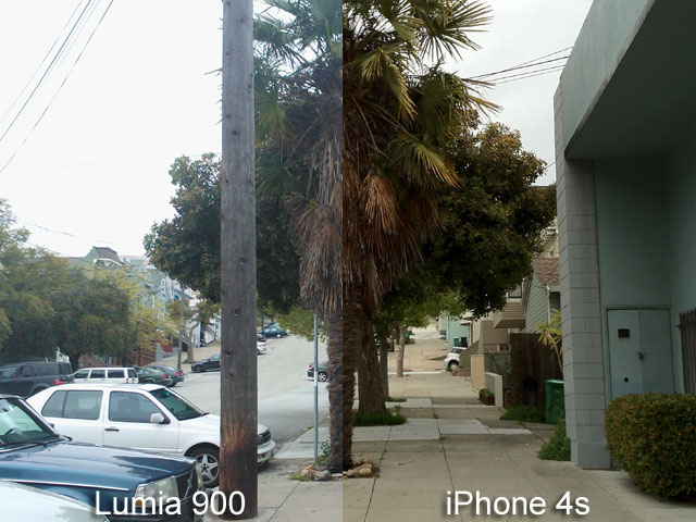Lumia 900 vs iPhone 4S