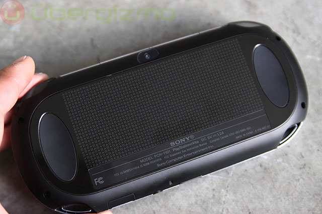 Ps Vita Review Rear Touch Pad