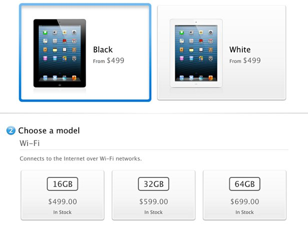 apple now ready to resume ipad 4 shipments