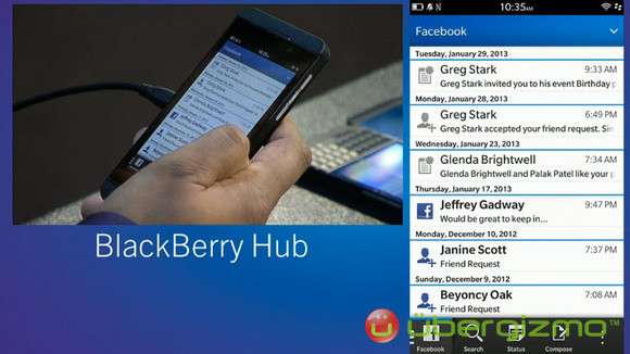 BlackBerry 10 OS Features Overview | Ubergizmo