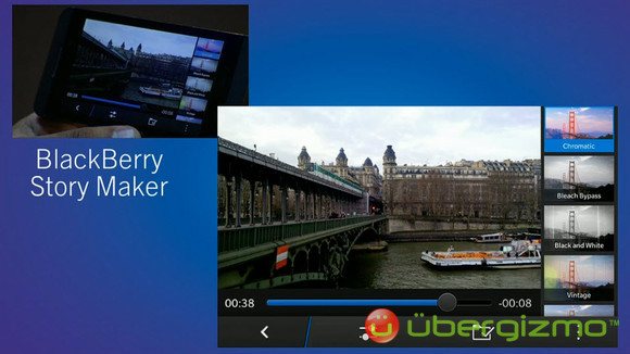 BlackBerry 10 OS Features Overview   Ubergizmo
