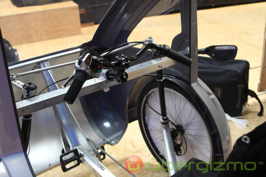 Elf Hybrid Solar Pedal Vehicle By Organic Transit