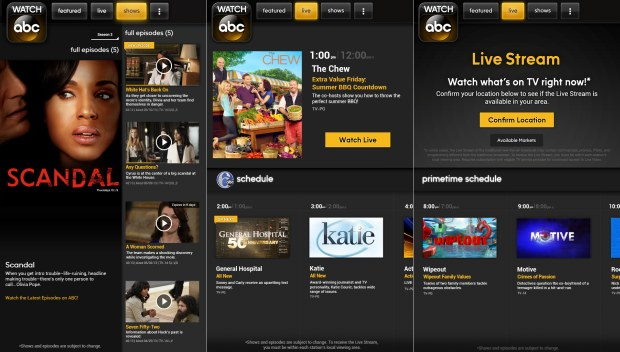 Watch Abc Live Tv Streaming App Available For Kindle Fire