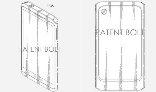 samsung patent hints at past  future smartphone design