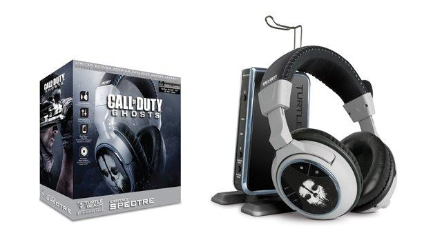 Turtle Beach Call Of Duty Ghosts Limited Edition Headsets Pricing Revealed
