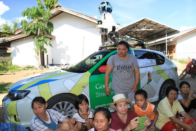Google Street View Driver Detained By Thai Villagers