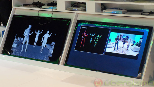 Kinect 2 in action during E3