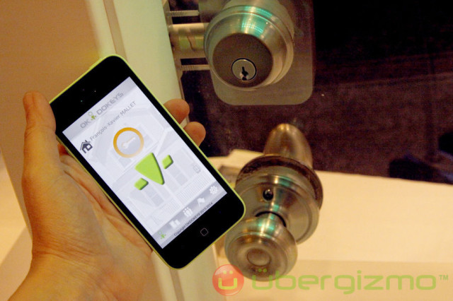 Okidokeys New Smart Locks And Keys Ubergizmo