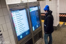 NYC Subway Maps Are Now Touchscreen Capable