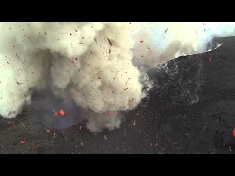 Drone Flies Into An Active Volcano, Lives To Tell The Tale