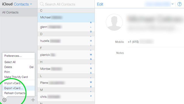 transfer contacts to ios from android