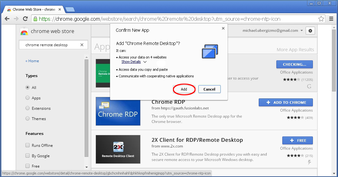 Use Chrome Remote Desktop To Access Your Computer   Ubergizmo