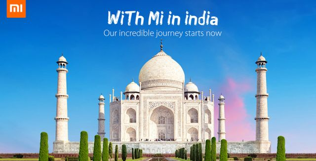 Xiaomi Launches Indian Website