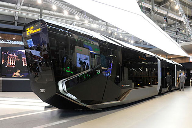 Russian Public Transport Gets Hi-Tech With The Russia One Tram