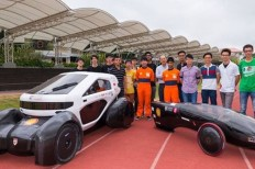 3D Printed Solar Car Prototypes Created By University Students