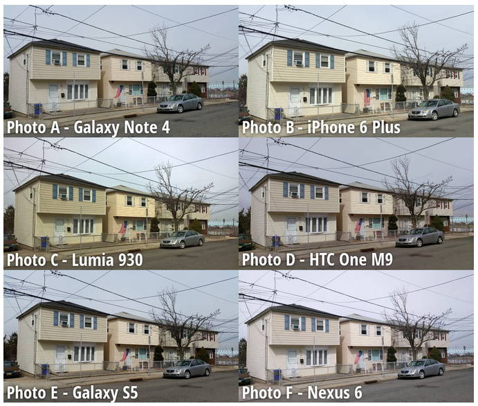 Nokia Lumia 930 Beats Out iPhone 6 Plus, Galaxy Note In Blind Camera Test