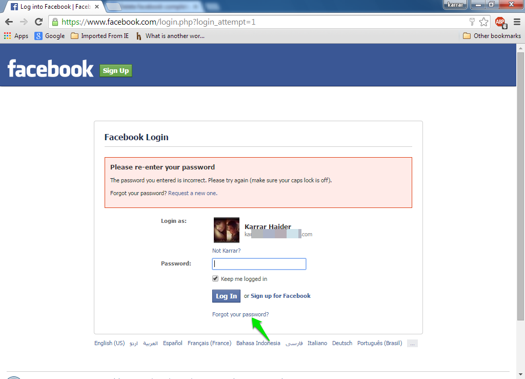 How to delete your facebook account completely ubergizmo without logging in you cannot delete your account if you cant login due to any reason then click on forgot your password and follow instructions to ccuart Images