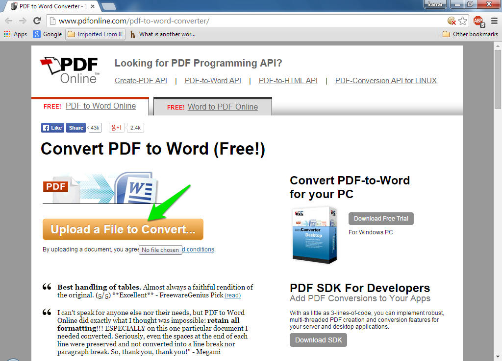 how do you edit a pdf document for free