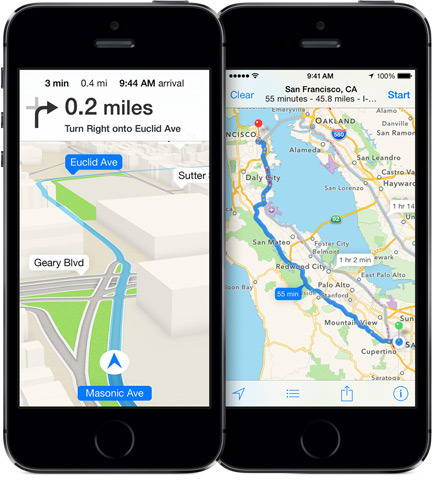 Apple Maps Uses Foursquare Data For Business Listings
