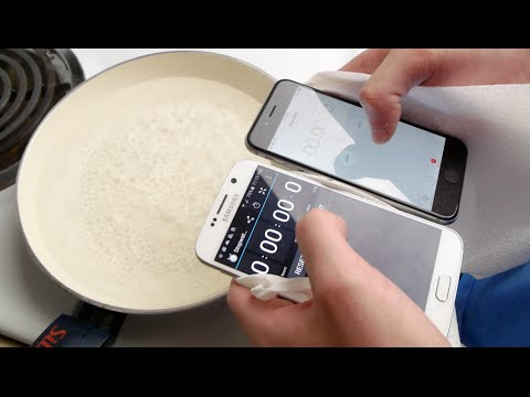 Samsung Galaxy S6 & iPhone 6 Put To The Test…In Boiling Hot Water