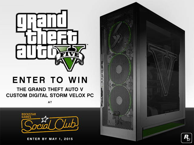Play Grand Theft Auto 5 At Max Settings With This GTA-Themed PC