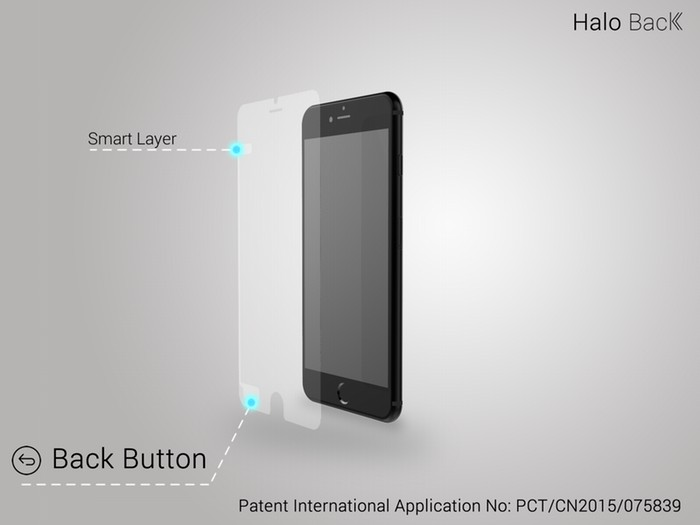 This Screen Protector Gives Your iPhone A Back Button