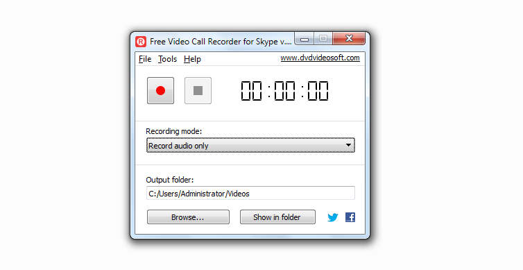 to start recording all you need to do is select recording method from the drop down menu below the option recording mode you can configure to record