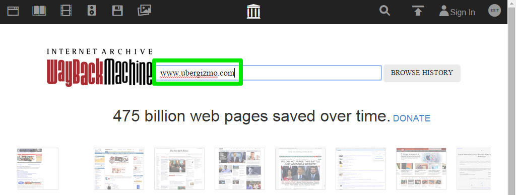 How To Find Lost Or Deleted Web Pages | Ubergizmo
