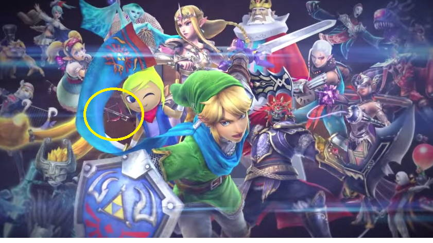 Female Link Hinted At In Upcoming Zelda 3DS Game