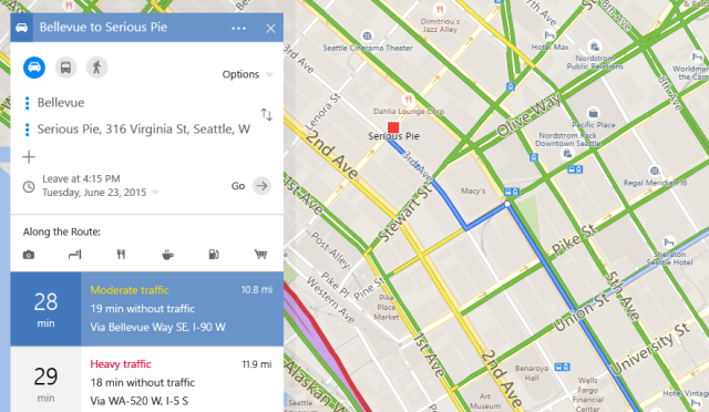 Completely Redesigned Bing Maps Launched With Focus On Trip
