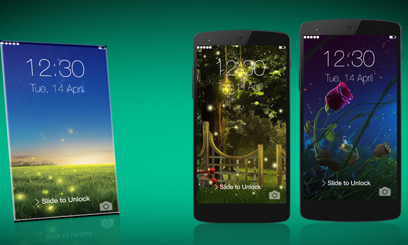 How To Change The Android Lock Screen | Ubergizmo
