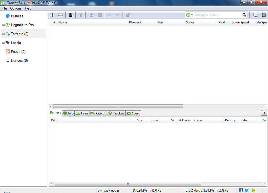 bittorrent how to disable ads