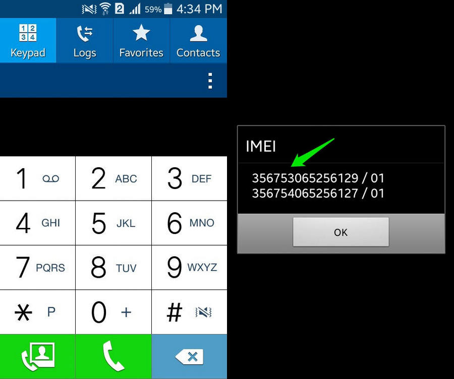 find imei iphone how to find your imei number ubergizmo 1836