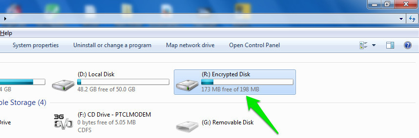 how to password protect files on a flash drive