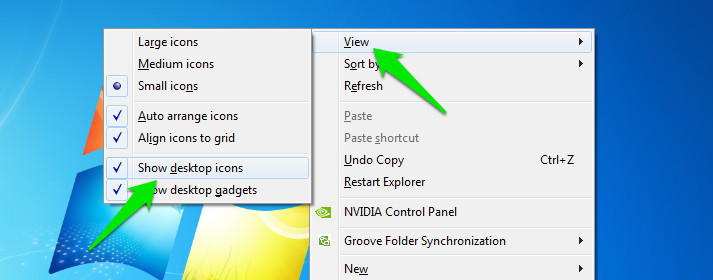 How To Restore Missing Desktop Icons (Windows) | Ubergizmo