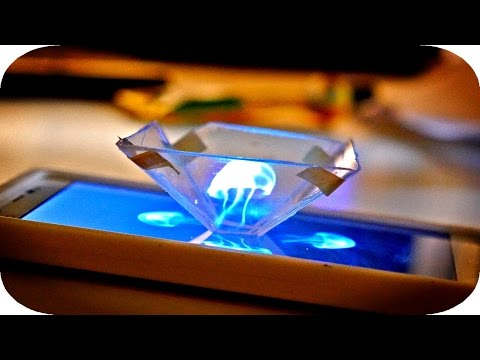 Turn Your Smartphone Into A Hologram Display With This DIY Solution