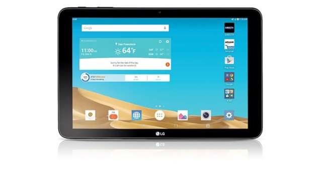AT&T Launches LG G Pad X 10.1