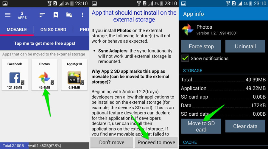 How To Move Android Apps to SD Card | Ubergizmo