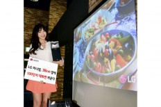 LG MiniBeam Projector Can Beam Large Screen From A Short Distance