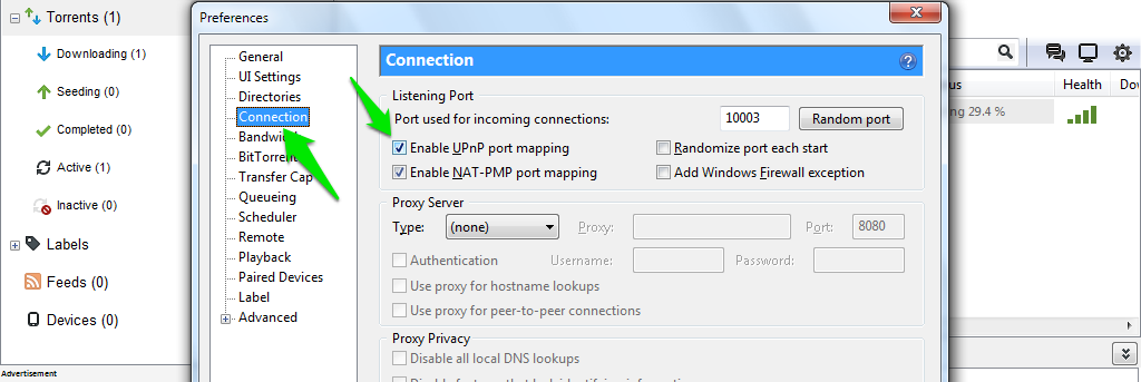 how to raise download speed on utorrent